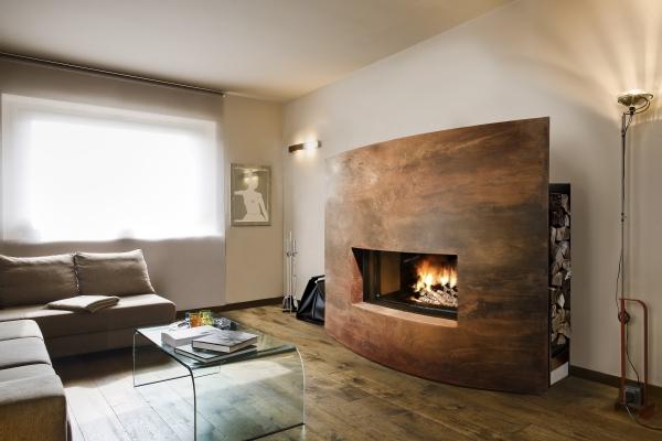 Hsdesign mostra espositiva itinerante architettura for Caminetti arredo