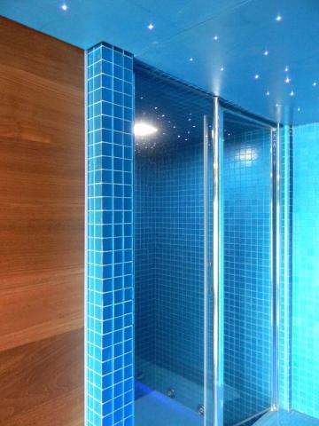 Hsdesign mostra espositiva itinerante architettura - Illuminazione per doccia ...